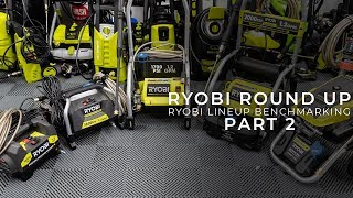 The Pressure Washing Project: E3 - Testing the Ryobi Product Line - Part 2