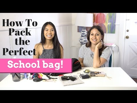 How To Pack the Perfect School Bag ft. Infinitely Cindy! | The Intern Queen