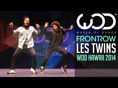 Видео: Les Twins  FRONTROW  World of Dance 2014 WODHI