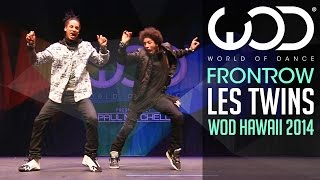 Les Twins | FRONTROW | World of Dance 2014 #WODHI(NEW SPOTIFY ACCOUNT! Follow our Spotify Playlists to discover new music! https://open.spotify.com/user/worldofdancemusic Discover new dance music on ..., 2014-12-19T22:24:01.000Z)