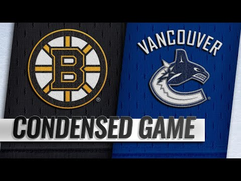 10/20/18 Condensed Game: Bruins @ Canucks