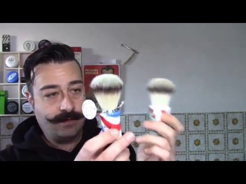 Rasatura tradizionele -Omega Barberpole - Lamette Merkure