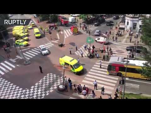 Un presunto terrorista mata a dos policías y a un civil en Lieja