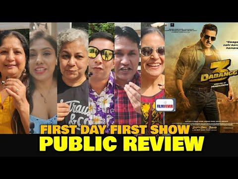 Dabangg 3 PUBLIC REVIEW | First Day First Show | Salman Khan, Kichcha Sudeep | Filmi Fever