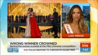 Miss Philippines is the real winner according to Miss Australia (interview)
