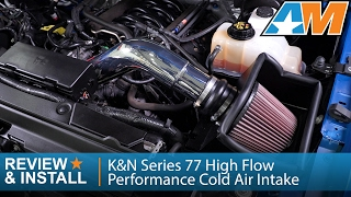 2011-2014 Ford F-150(5.0L) K&N Series 77 High Flow Performance Cold Air Intake Review & Install