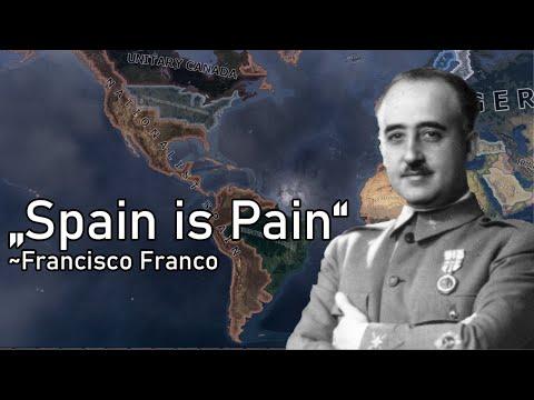 La Resistance Spanish Civil War! Hoi4 Come Back of Spanish Empire!  