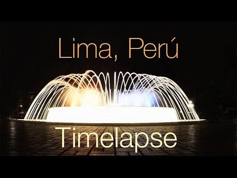 Lima, Peru Timelapse. Dec 2016