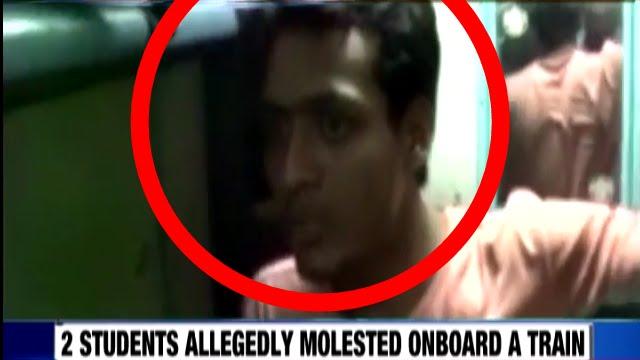 Girl Molested On Train