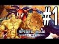 Ultimate Spider-Man: Total Mayhem | iPhone | Gameplay Walkthrough Part 1: SandMan