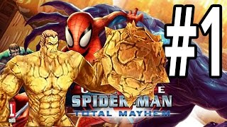 Ultimate Spider-Man: Total Mayhem | iPhone | Gameplay Walkthrough Part 1: SandMan