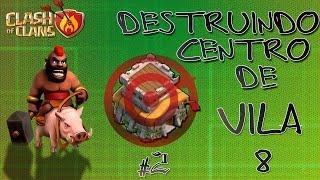 Clash of Clans - Como fazer 3 estrelas em centro de vila 8 (3 Stars Town Hall 8) #2