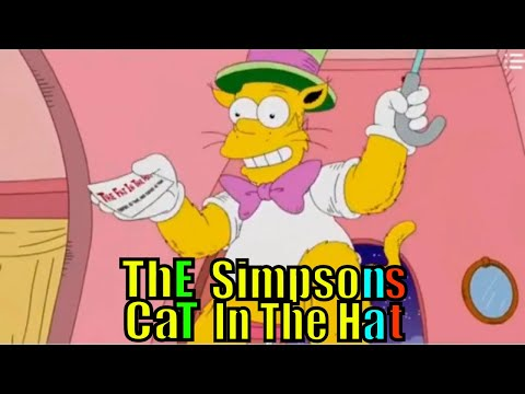 The Simpsons Fat Cat in the hat