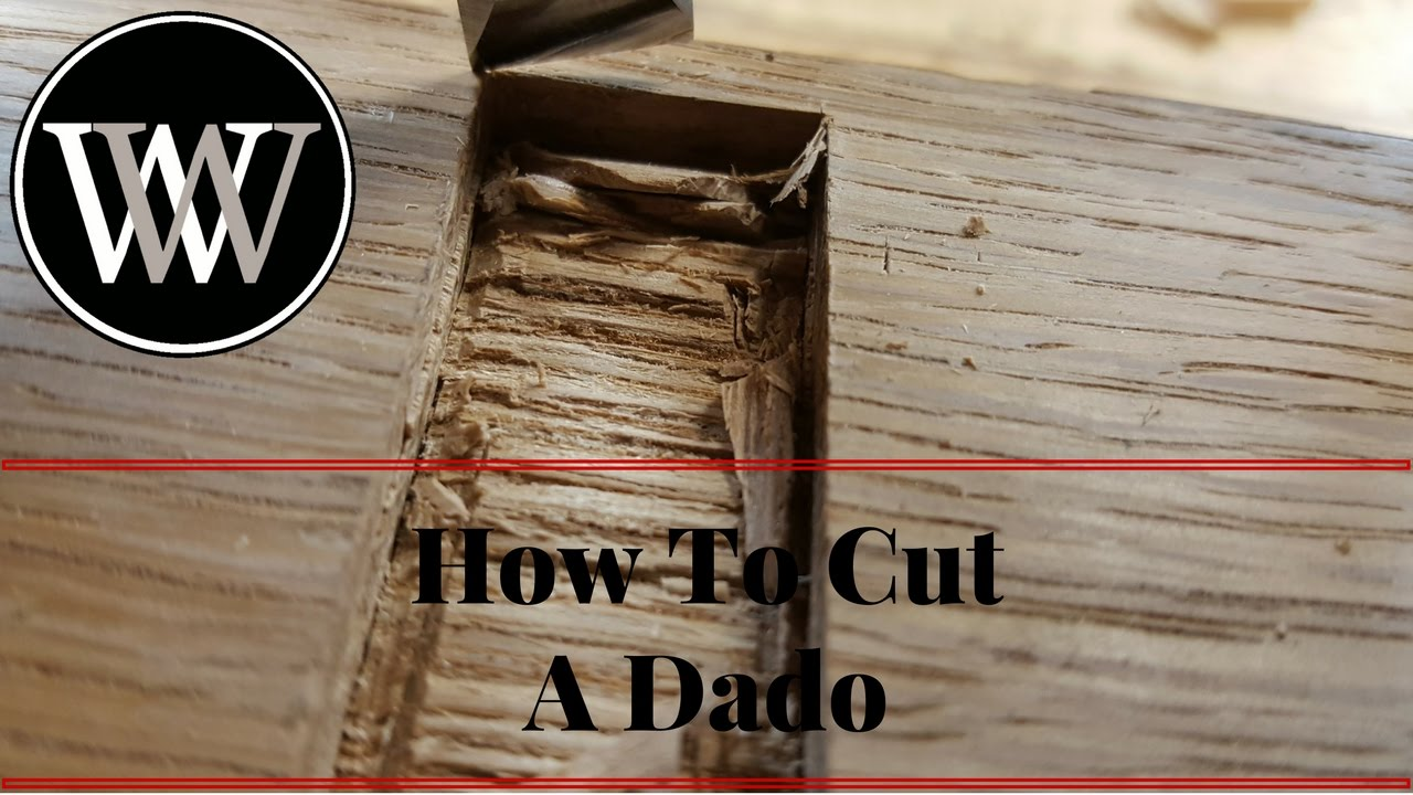 dado cut. how to cut a dado with hand tools - woodworking joint