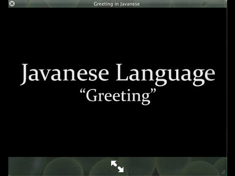 Greetings in javanese youtube greetings in javanese youtube m4hsunfo