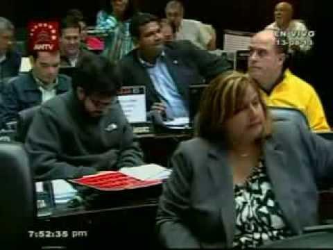 Sesión completa: Diputados presentan pruebas contra Primero Justicia por corrupción y prostitución