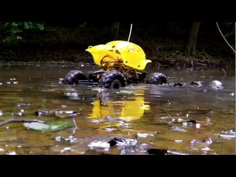 Reely Crawler CR200- Forest expedition (crossing water and mud)
