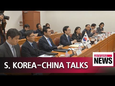 Top nuclear negotiators of South Korea and China to discuss efforts to denuclearize Korean Peninsula