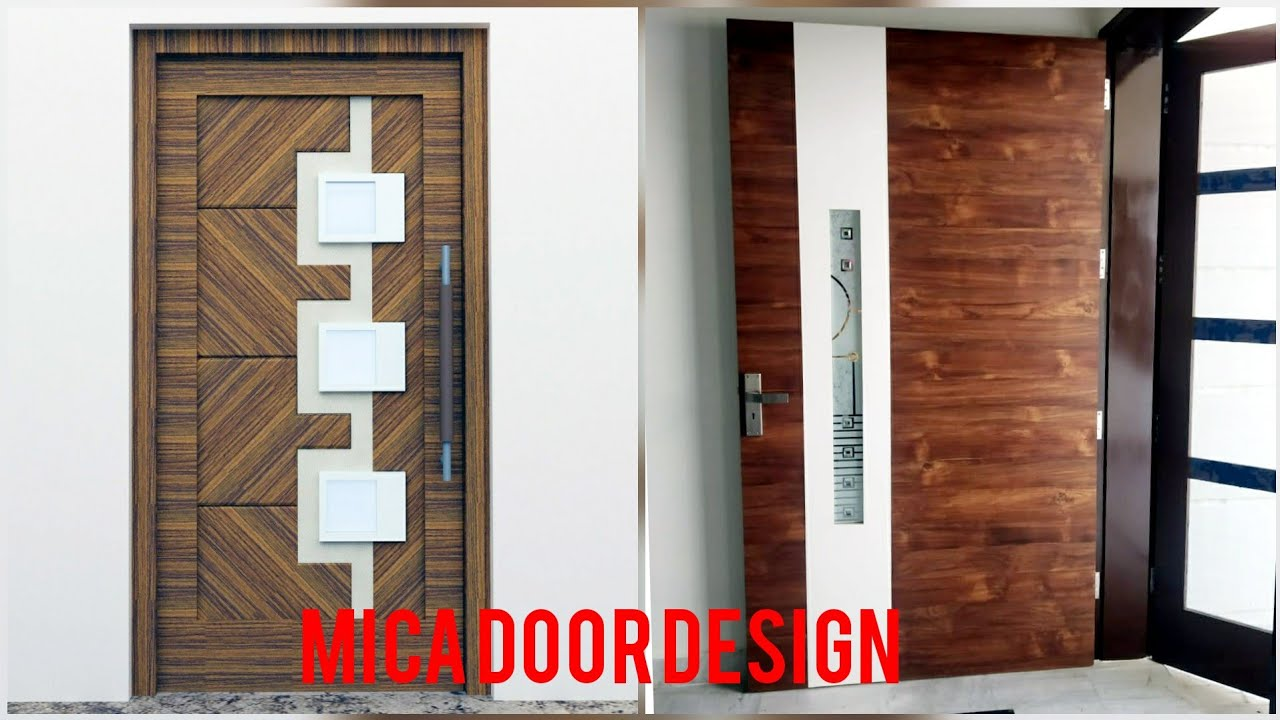 Letest Sunmica Door Design#5# by woodworkingidea - YouTube