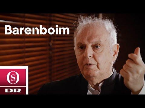 Backstage with Bohr - Daniel Barenboim