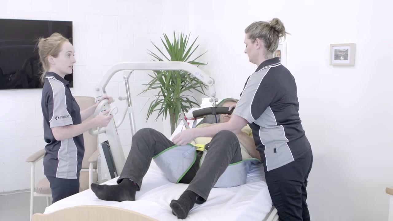 Aidacare Training Video – Manual Handling – Lie To Sit