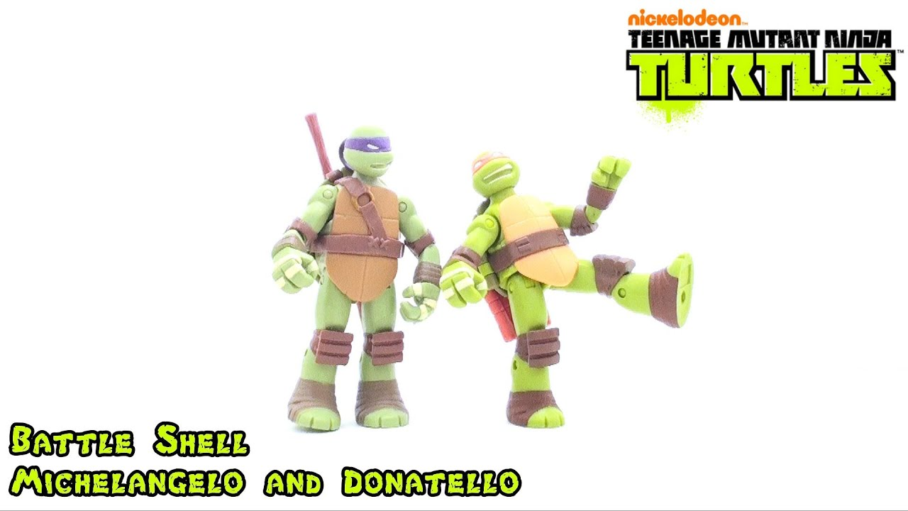 Video Review Of The 2012 Battle Shell Michelangelo And Donatello