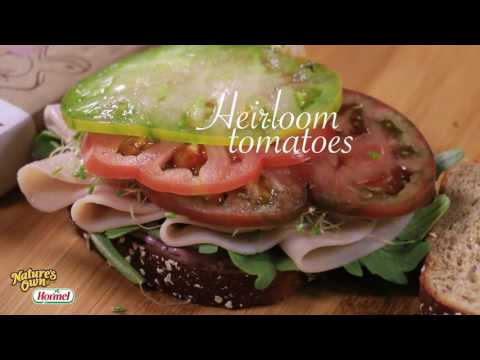 Nature's Own - Sweet and Savory Turkey-Blueberry Sandwich