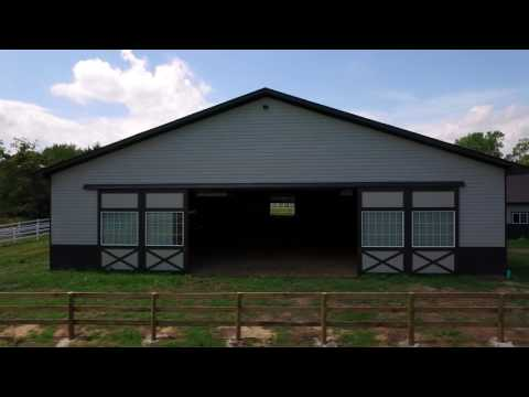 Stall Barn - Indoor Riding Arena