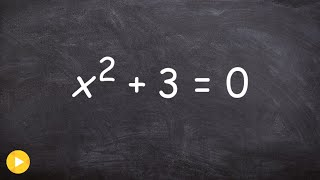 How to solve a quadratic equation when b=0 - Free Math Help - solve