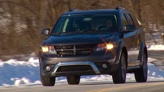 2015 Dodge Journey Crossroad - TestDriveNow.com Review by Auto Critic Steve Hammes | TestDriveNow