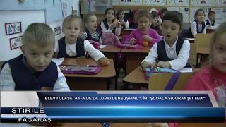 "Elevii clasei a-I a de la Scoala ""Ovid Densusianu"" implicati in Programul national ""Scoala Sigurante"