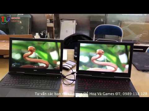 Test Cái Màn Hình 4K Và Màn Hình Full HD IPS Của Dell Gaming 7566 Cho Anh Em Đây