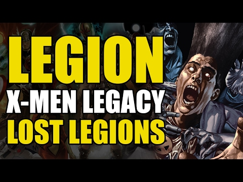 The X-Men vs Legion (X-Men Legacy: Lost Legions)