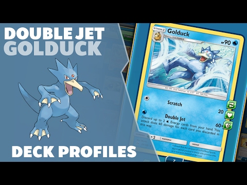 Deck Profile Ep 12 -Golduck's Double Jet- Pokemon Trading Card Game Online