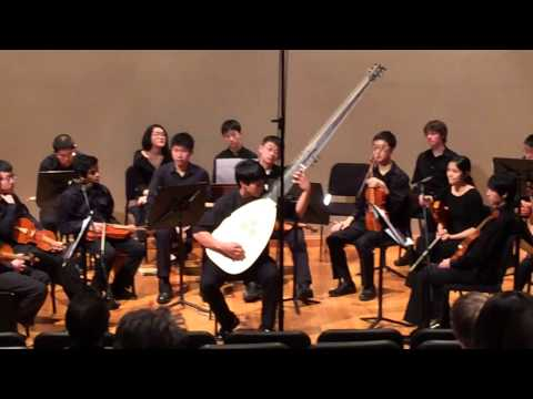 SHS Baroque Ensemble -  Toccata Seconda Arpeggiata with Solo Theorbo