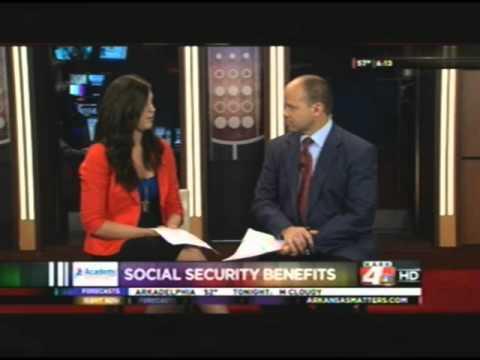 Financial Advisor in Little Rock, AR on KARK Channel 4 News- Social Security Segment