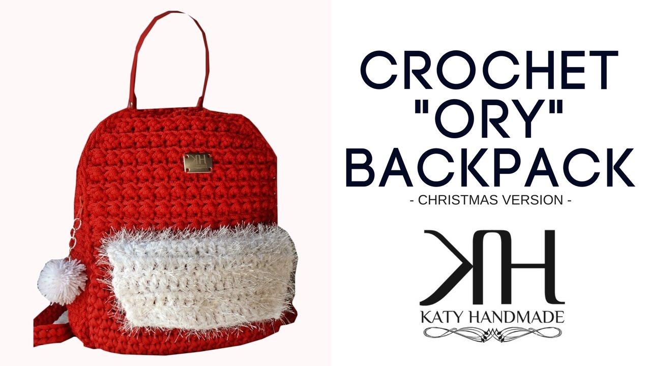 Tutorial Zaino Uncinetto Ory Punto Econocciolina Crochet Katy