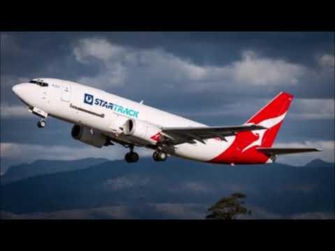 (ATC) Qantas 7335 First Officer Incapacitated 737-300 (Express Freighters Australia)