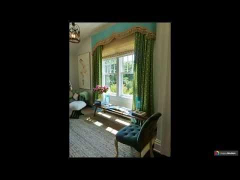 Ламбрекены и шторы фото для спальни