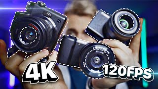 The BEST Budget Youtube and Streaming Camera?? Sony a5100 v Canon m200 v Panasonic Lumix G7