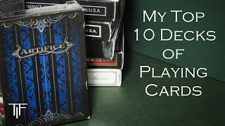 Top 10 Decks of Playing Cards