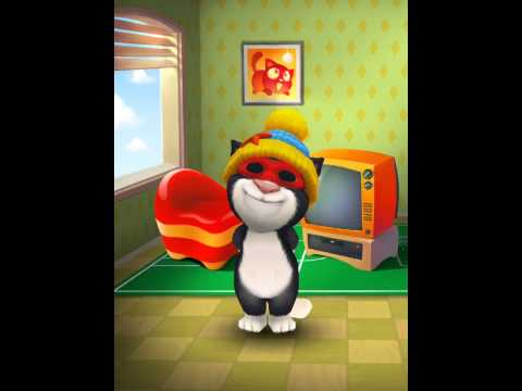 [My Talking Tom] Tom gets peted
