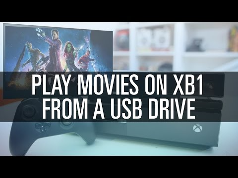 How To Play Movies on XB1 From USB Drive