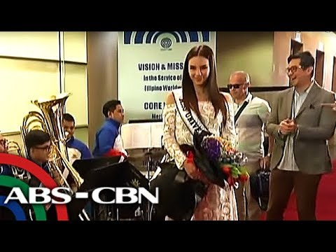 ABS-CBN welcomes Miss Universe 2018 Catriona Gray | 22 Feb 2019