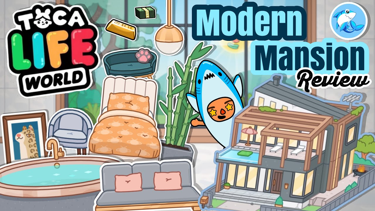 Toca Life World | Modern Mansion Review!! (OUT NOW)