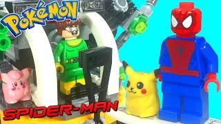 LEGO Spider-Man & Pikachu Doc Ock's Tentacle Trap Pokemon Battle