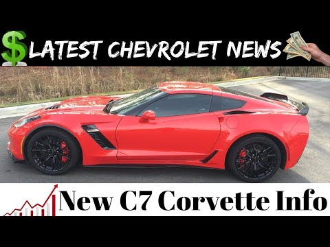 Chevrolet News and New Prices on Chevy C7 Corvette