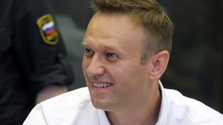 Навальный на свободе