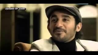 مشهد مؤثر للنجم احمد حلمى