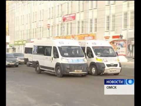 В Омске сократят число маршруток на треть